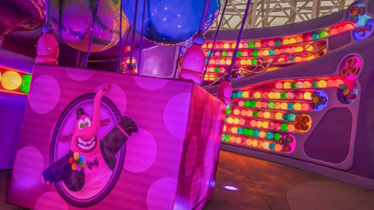 Inside Out emotional whirlwind Pixar Pier