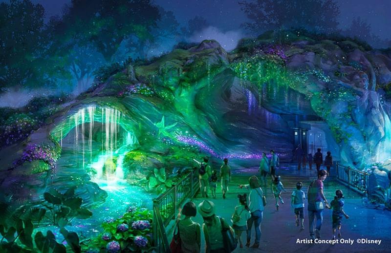Fantasy Springs Tokyo DisneySea left side entrance day