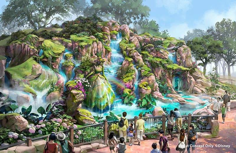 Fantasy Springs Tokyo DisneySea right side entrance day