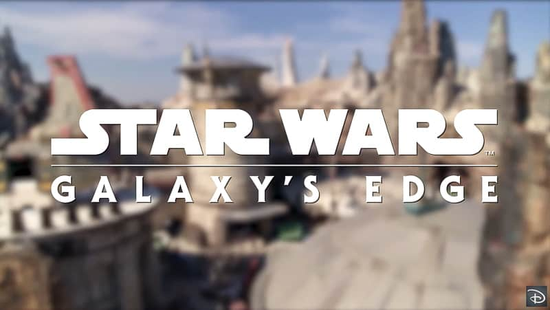 Star Wars Galaxy's Edge dedication ceremony