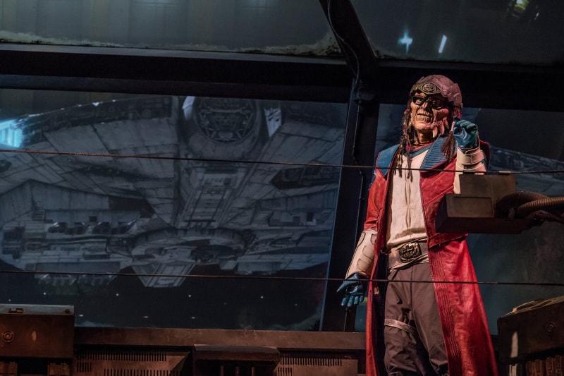 Hondo Animatronic in Millennium Falcon: Smuggler's Run