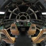 Millennium Falcon Smuggler's Run ride cockpit