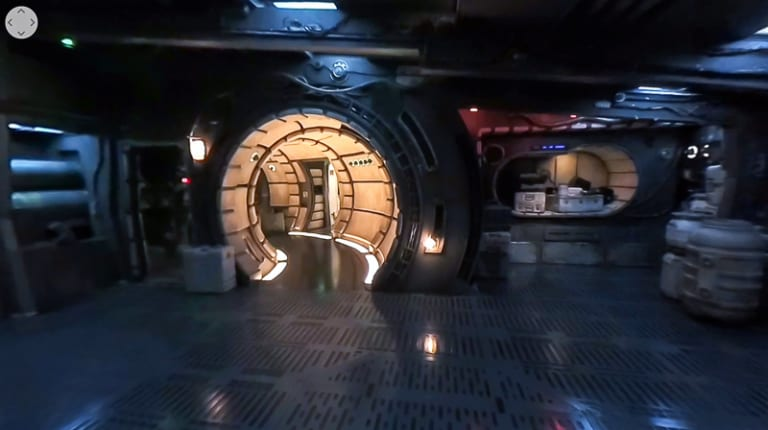 Millennium Falcon Smuggler's Run Video Tour