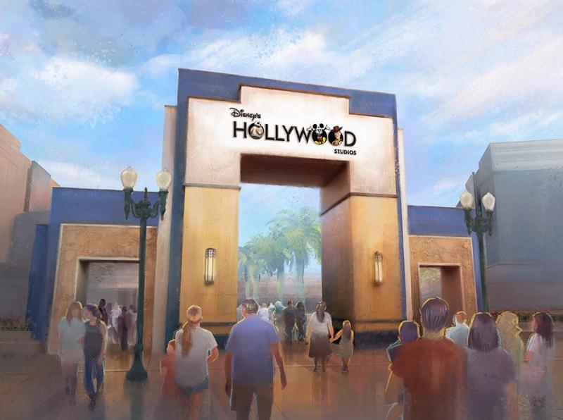 New Hollywood Studios Logo