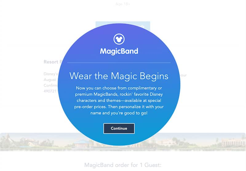 New MagicBand upgrades now available