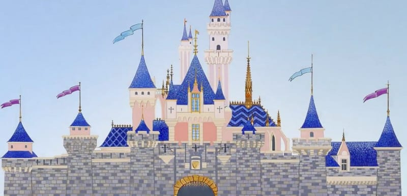 sleeping beauty castle refurbishment may 2019 concept art