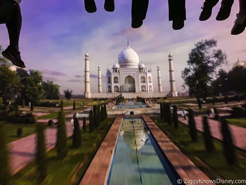 Soarin Around the World scene Taj Mahal