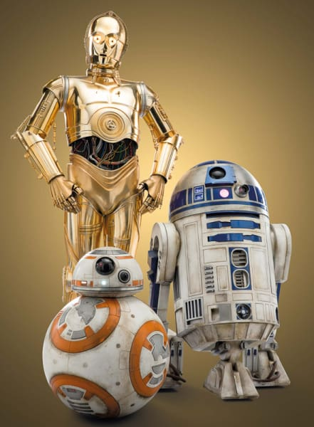 Star Wars Galaxy's Edge Droids on sale for $25,000