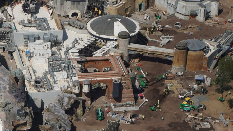 Star Wars Galaxy's Edge Construction Updates May 2019 Docking Bay 7