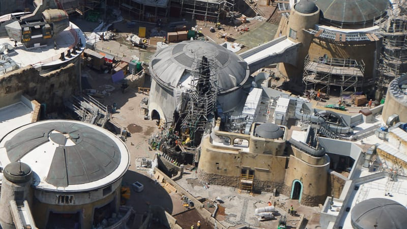 Star Wars Galaxy's Edge Construction Updates May 2019 Black Spire