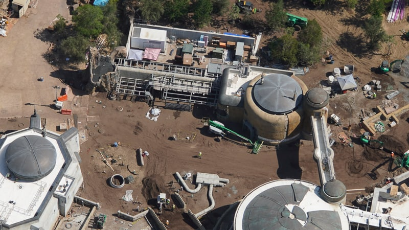 Star Wars Galaxy's Edge Construction Updates May 2019 Toy Story Land Entrance