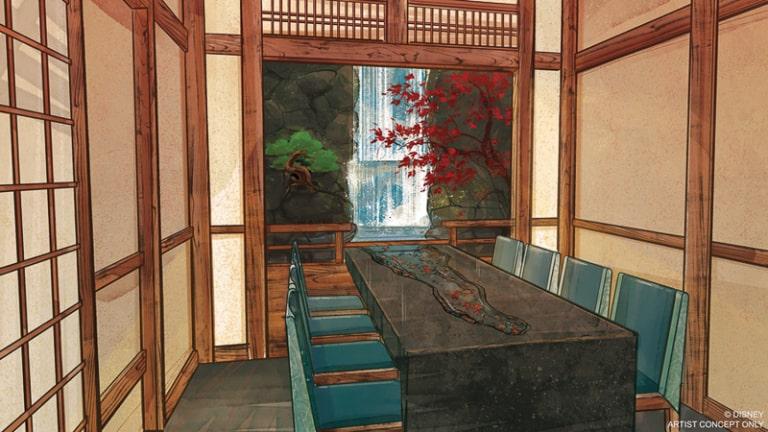 Takumi Tei Restaurant Concept Art