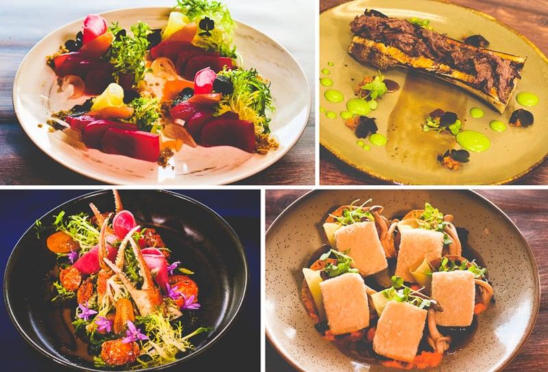 Takumi-Tei menu appetizers