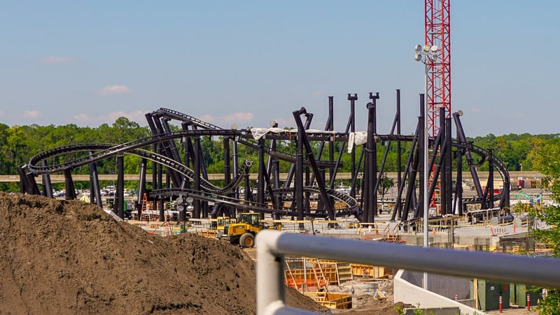 TRON Roller Coaster Update May 2019 from PeopleMover