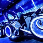 TRON Lightcycle Run Roller Coaster Magic Kingdom