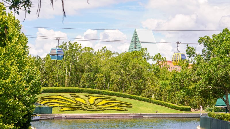 Disney Skyliner Gondola Construction Updates June landing at the international gateway