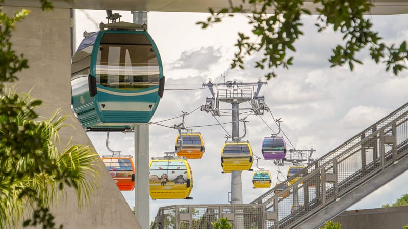 Disney Skyliner Gondola Construction Updates June full testing