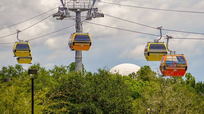 Disney Skyliner Gondola Construction Updates June riviera line