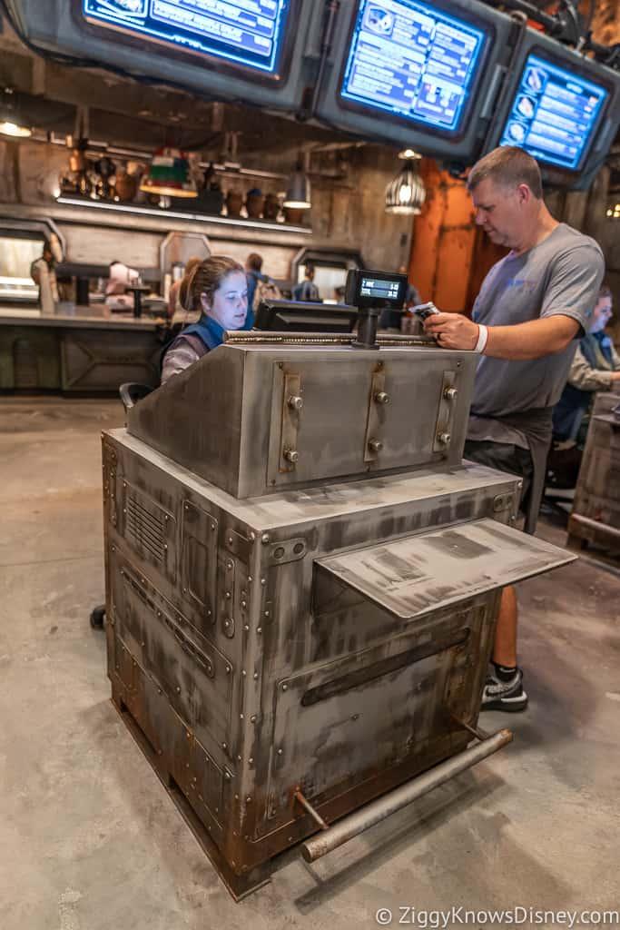 cash register at Docking Bay 7 Food and Cargo