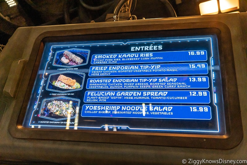 Docking Bay 7 Food and Cargo entrees