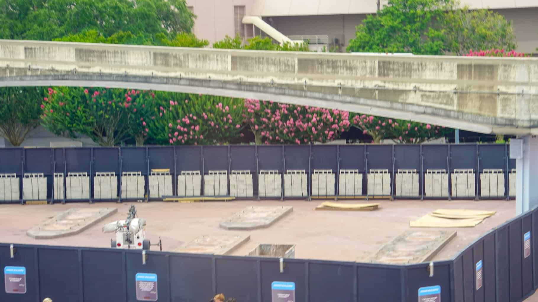 Epcot Entrance Demolition June 2019
