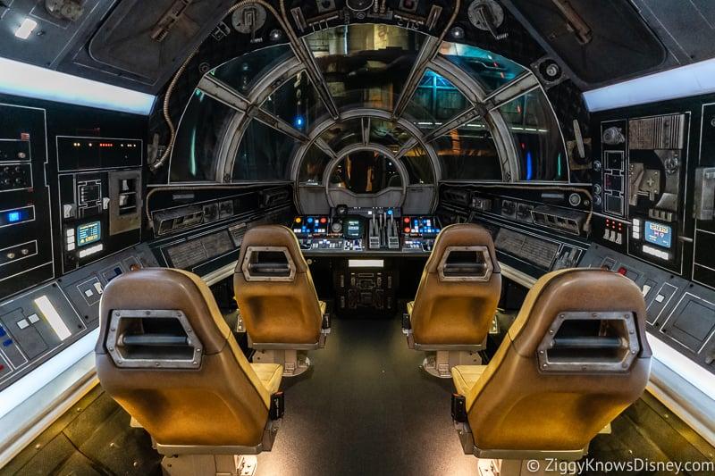 Millennium Falcon Smuggler's Run Cockpit