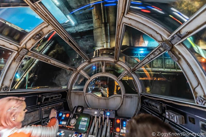 Millennium Falcon Smuggler's Run Cockpit window