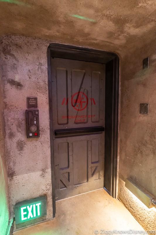 Millennium Falcon Smuggler's Run Ride secret door