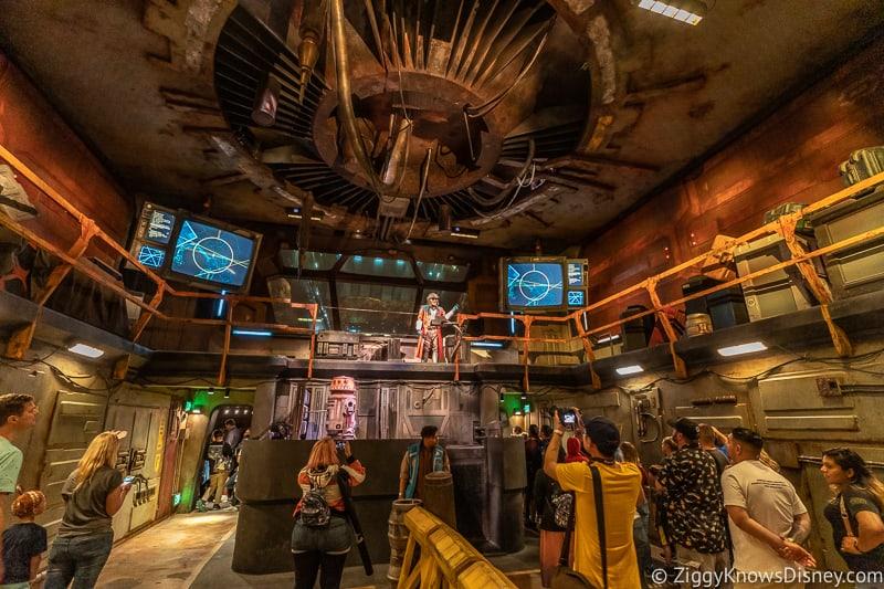 Hondo room Millennium Falcon Smuggler's Run Ride