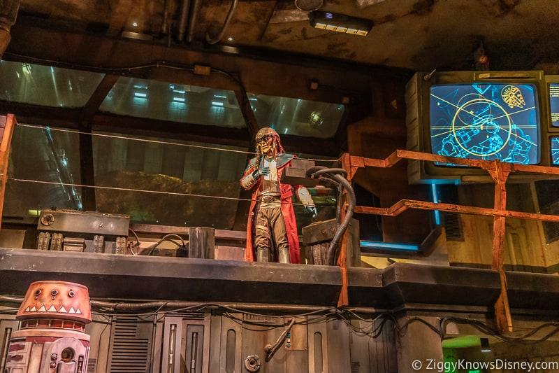 Hondo Ohnaka Millennium Falcon Smuggler's Run Ride queue