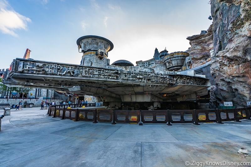 Millennium Falcon Smuggler's Run Ride