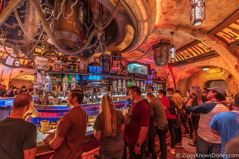 right side bar Oga's Cantina