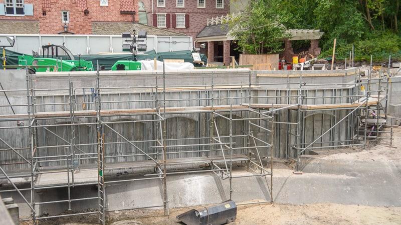 Sidewalk Expansion Cinderella Castle Magic Kingdom