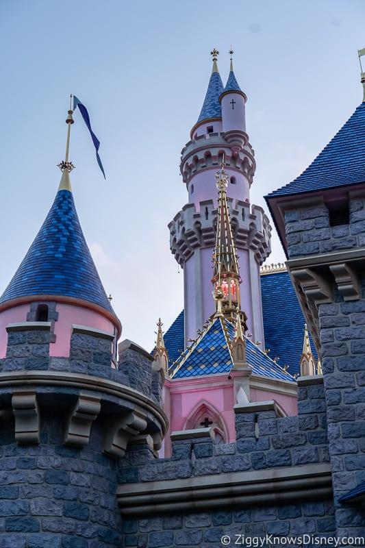Sleeping Beauty Castle Disneyland towers