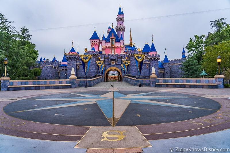Sleeping Beauty Castle Disneyland refurbishment complete