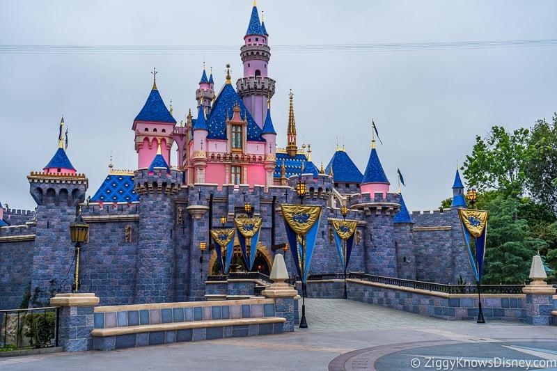 Disneyland Castle front Sleeping Beauty Castle