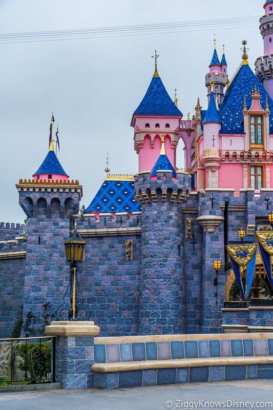towers of Sleeping Beauty Castle Disneyland
