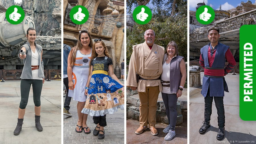 Galaxy's Edge Dress Code and Bounding Rules
