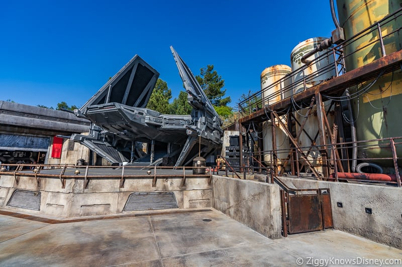 TIE Echelon in Star Wars Galaxy's Edge