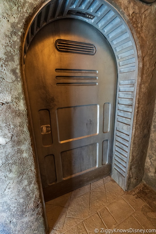 door in Star Wars Galaxy's Edge
