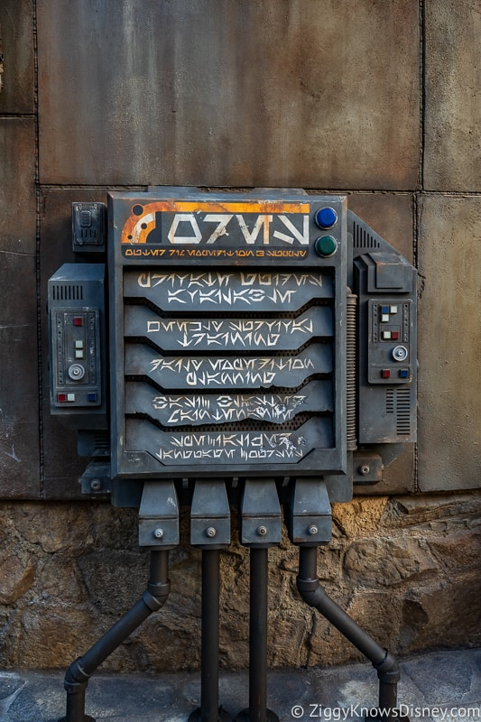 Star Wars Galaxy's Edge electrical circuits