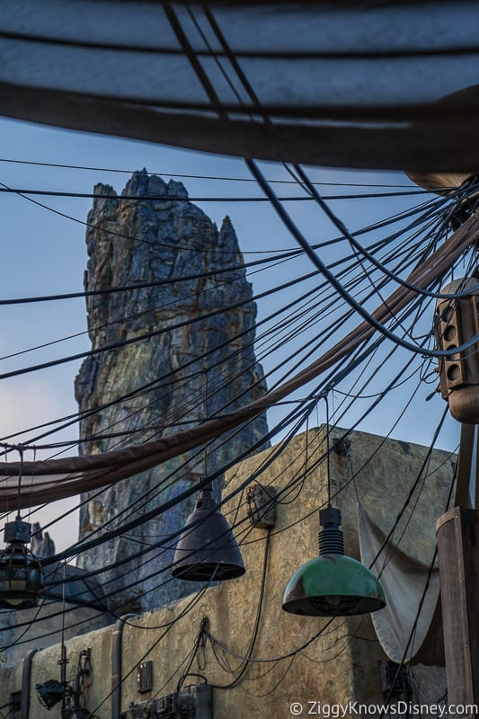 Star Wars Galaxy's Edge Black Spire distance