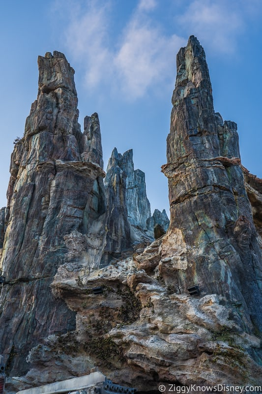 tall spires Star Wars Galaxy's Edge