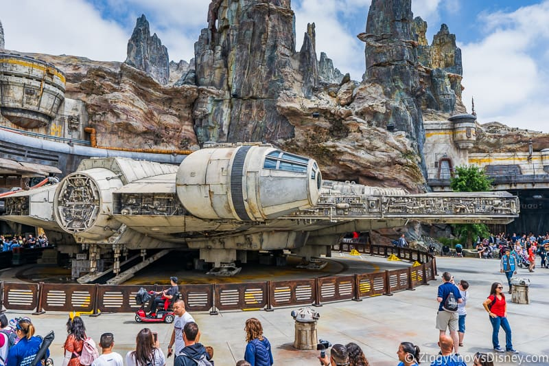 Millennium Falcon Star Wars Galaxy's Edge