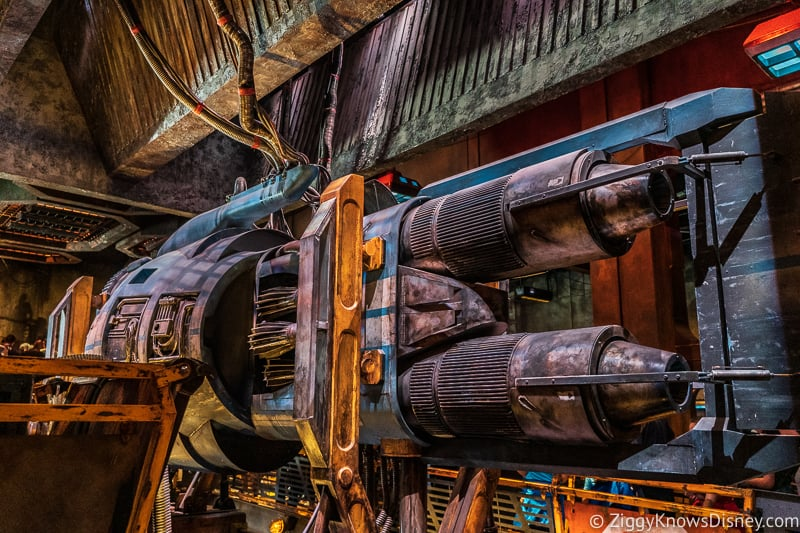 engine in the Millennium Falcon Smuggler's Run queue