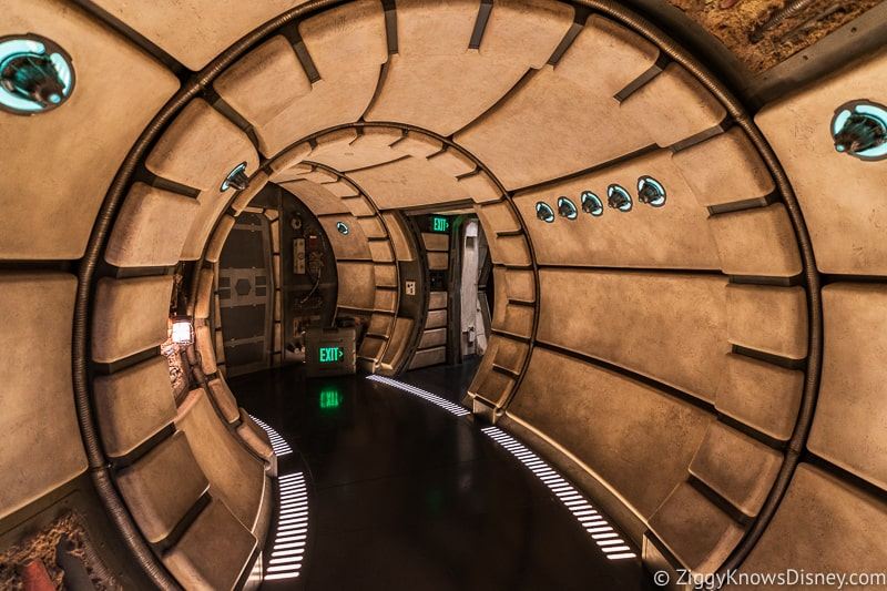 hallways of the Millennium Falcon