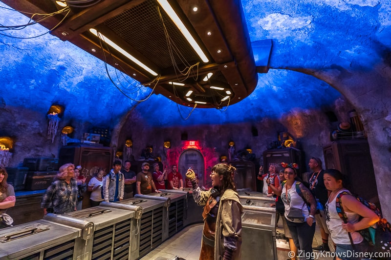 Inside Savi's Workshop Lightsaber experience Star Wars Galaxy's Edge Disneyland