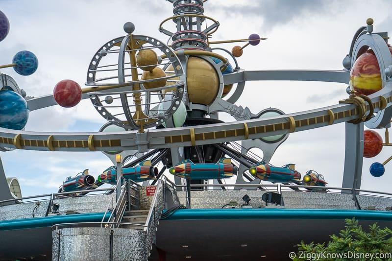 Astro Orbiter Refurbishment Magic Kingdom