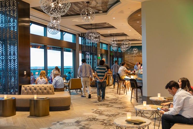 Dahlia Lounge Gran Destino Tower