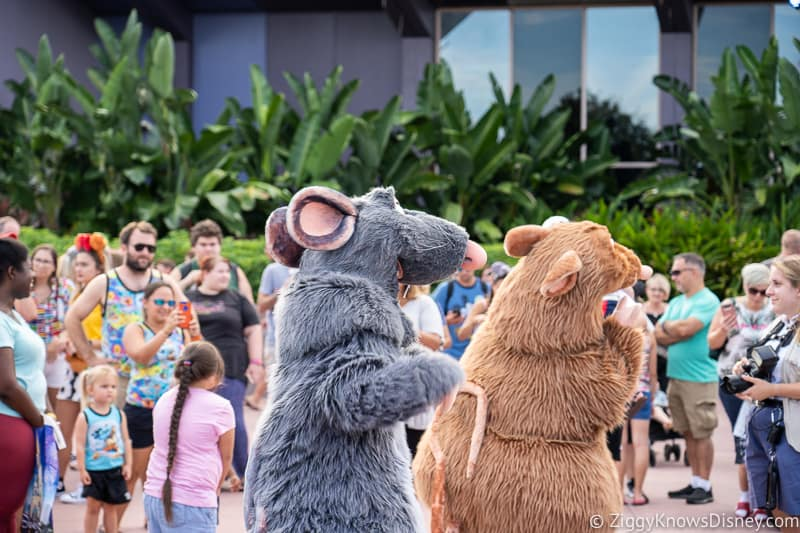 Ratatouille Dance Party for Epcot Food and Wine